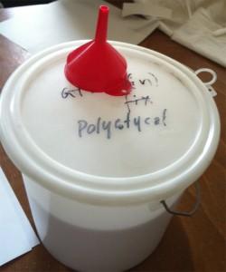 Polystyrolkügelchen