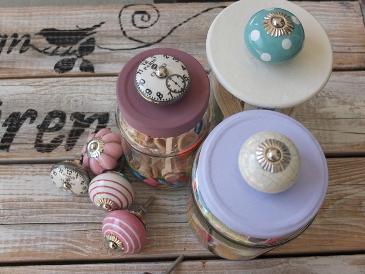 10 Upcycling-Ideen mit Porzellanknöpfe – Möbelknöpfe