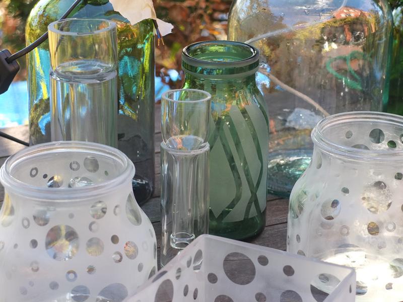 Altglas Upcycling Ideen