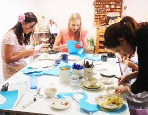 Etageren Workshop - gemeinsames Werken