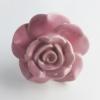Möbelknöpfe/Porzellanknöpfe Rose rosa - 18