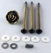 Etagere Metall-Stangen - Rose bronze