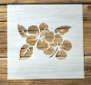 Schablone Muster - Blume - 1