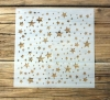 Schablone Muster - Sterne - 11