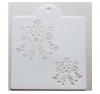 Schablone Muster - Weihnachtsglocken - 27