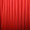 Textilkabel rot, 2-adrig rund, 2x0,75