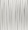 Textilkabel weiss, 2-adrig rund, 2x0,75